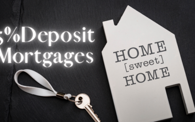 Everything you need to know about 5% Deposit Mortgages.